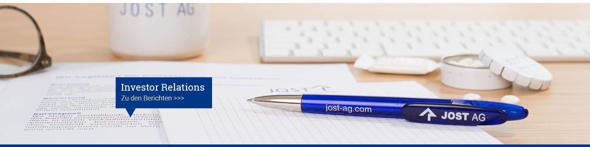 Investor Relations JOST AG